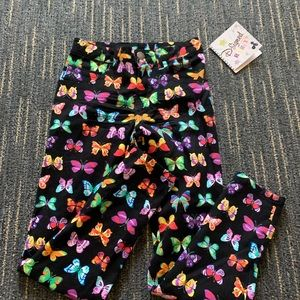 Disney butterfly black jeans NWT